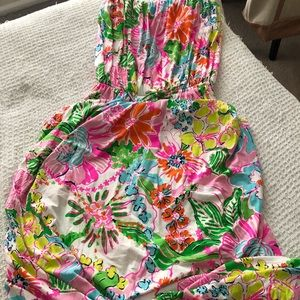 NWT Lilly Pulitzer for target strapless dress xxl